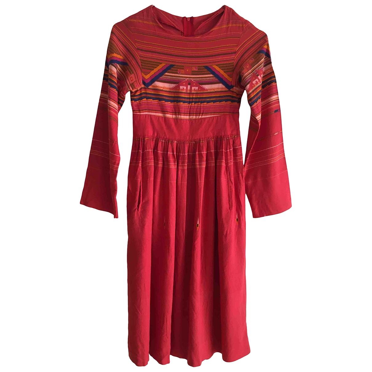 - Robe    pour enfant - rouge