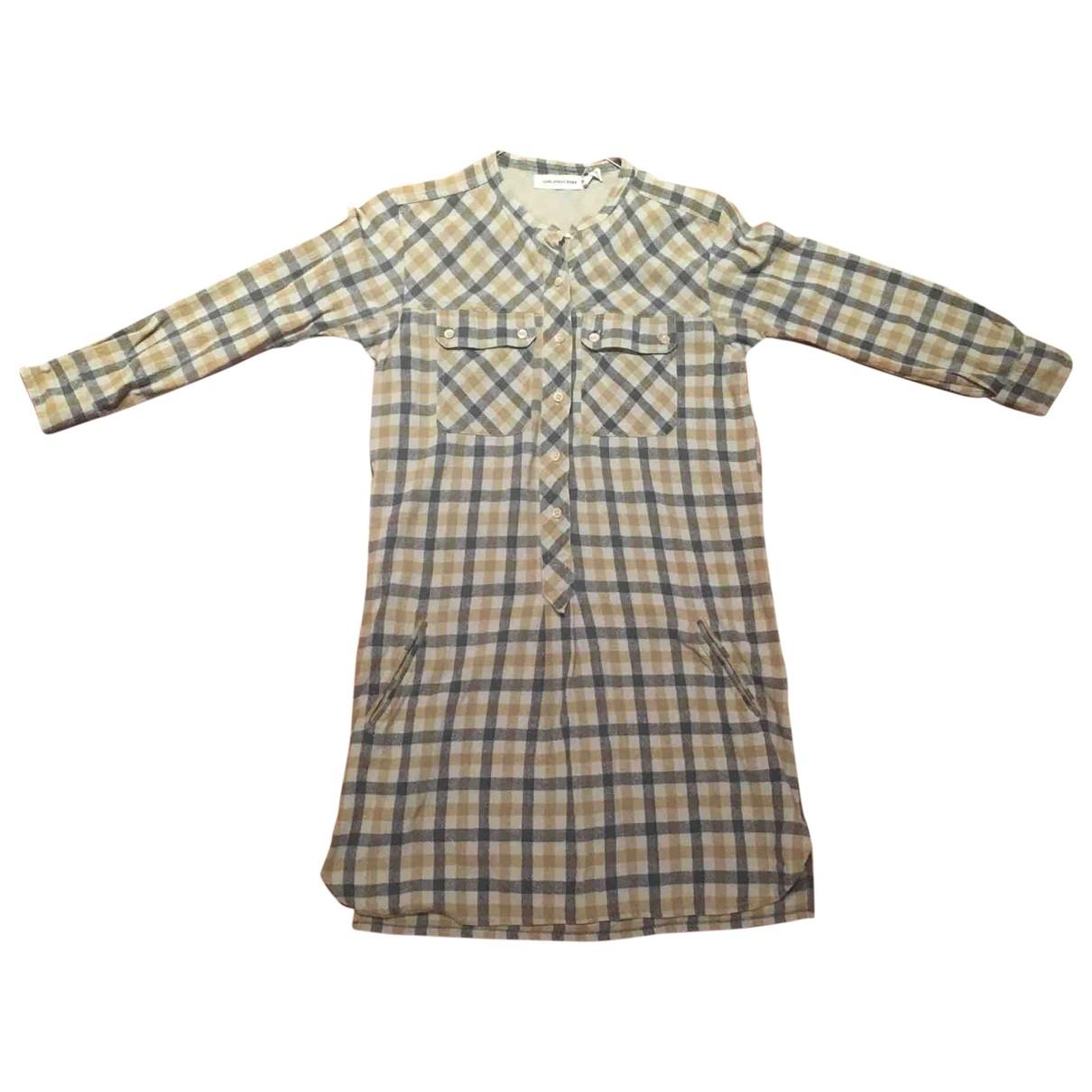 Isabel Marant Etoile \N Beige Silk dress for Women 40 FR