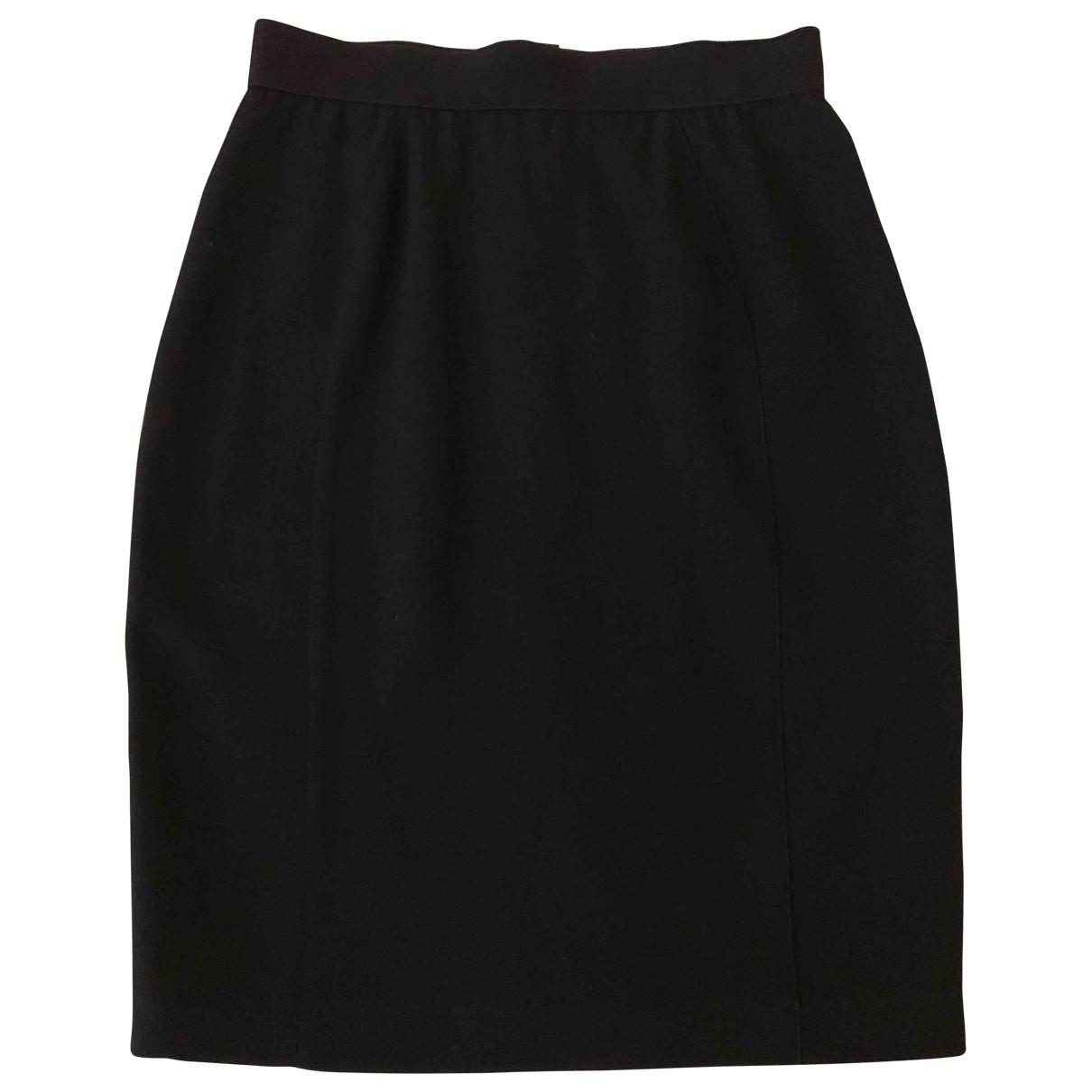 Mini falda de Lana Thierry Mugler