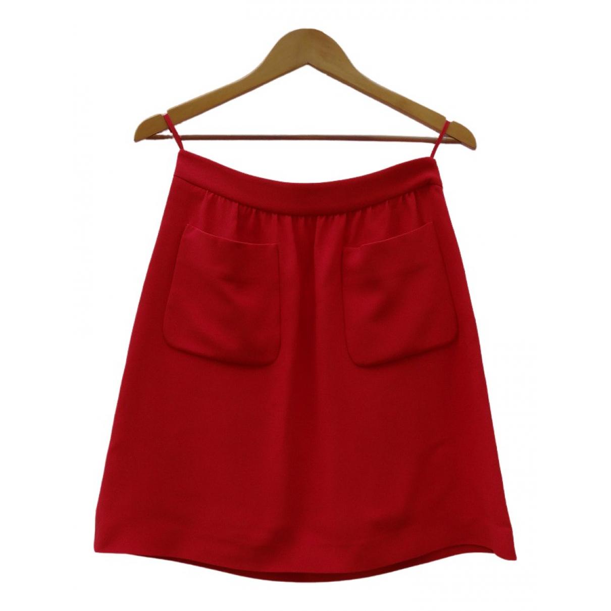 Miu Miu - Jupe   pour femme - rouge