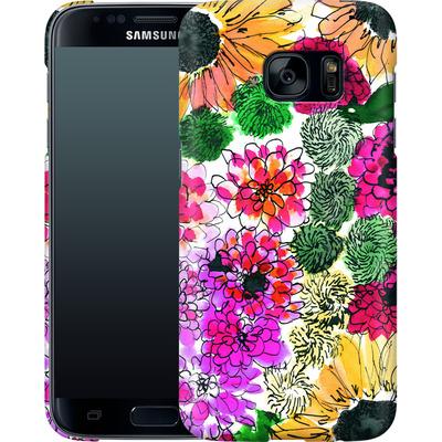 Samsung Galaxy S7 Smartphone Huelle - Fiore Sunshine von Amy Sia