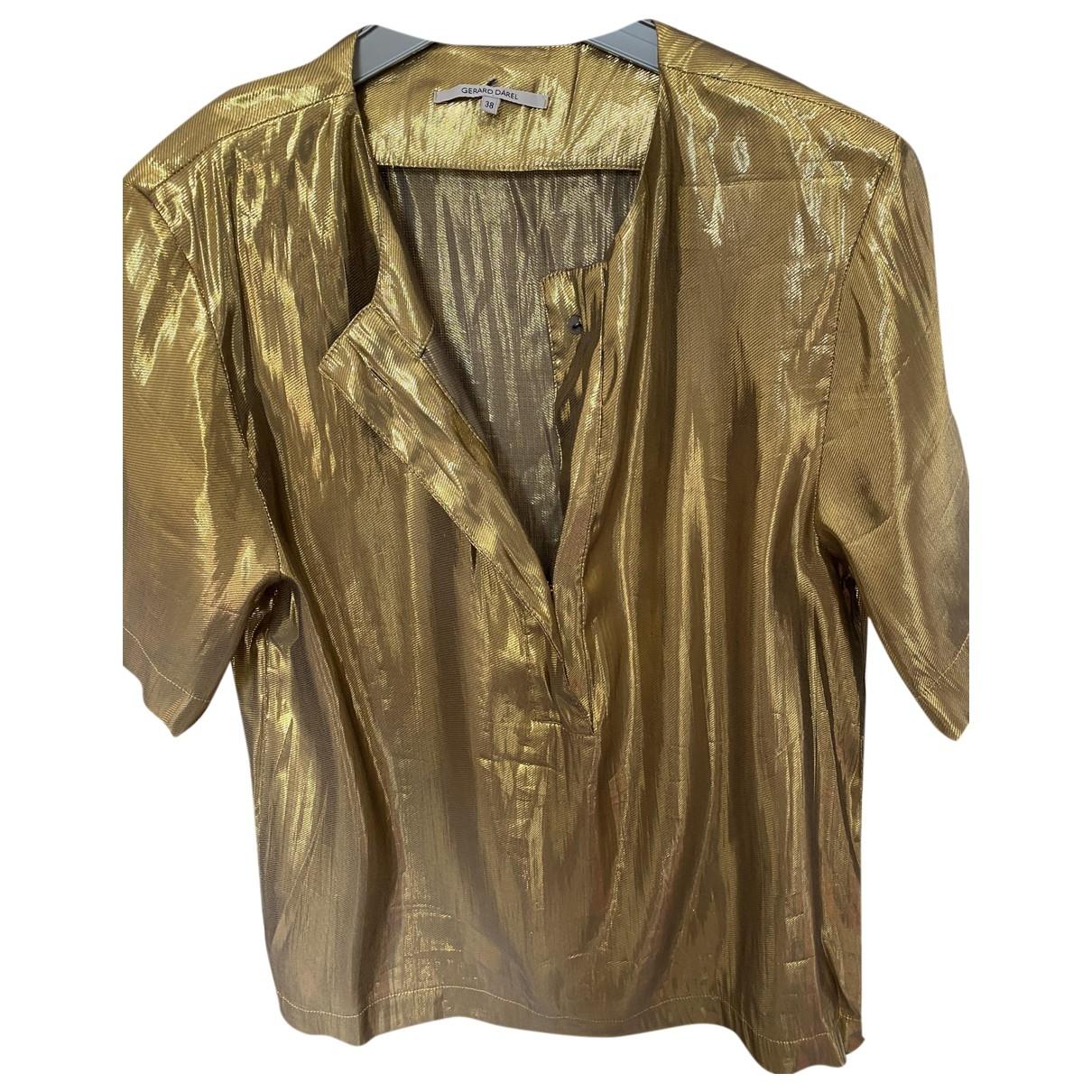 Gerard Darel \N Gold  top for Women 38 FR