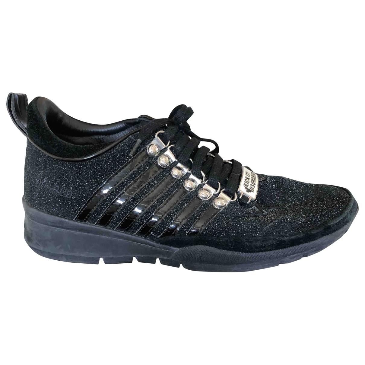Dsquared2 \N Sneakers in  Schwarz Kunststoff