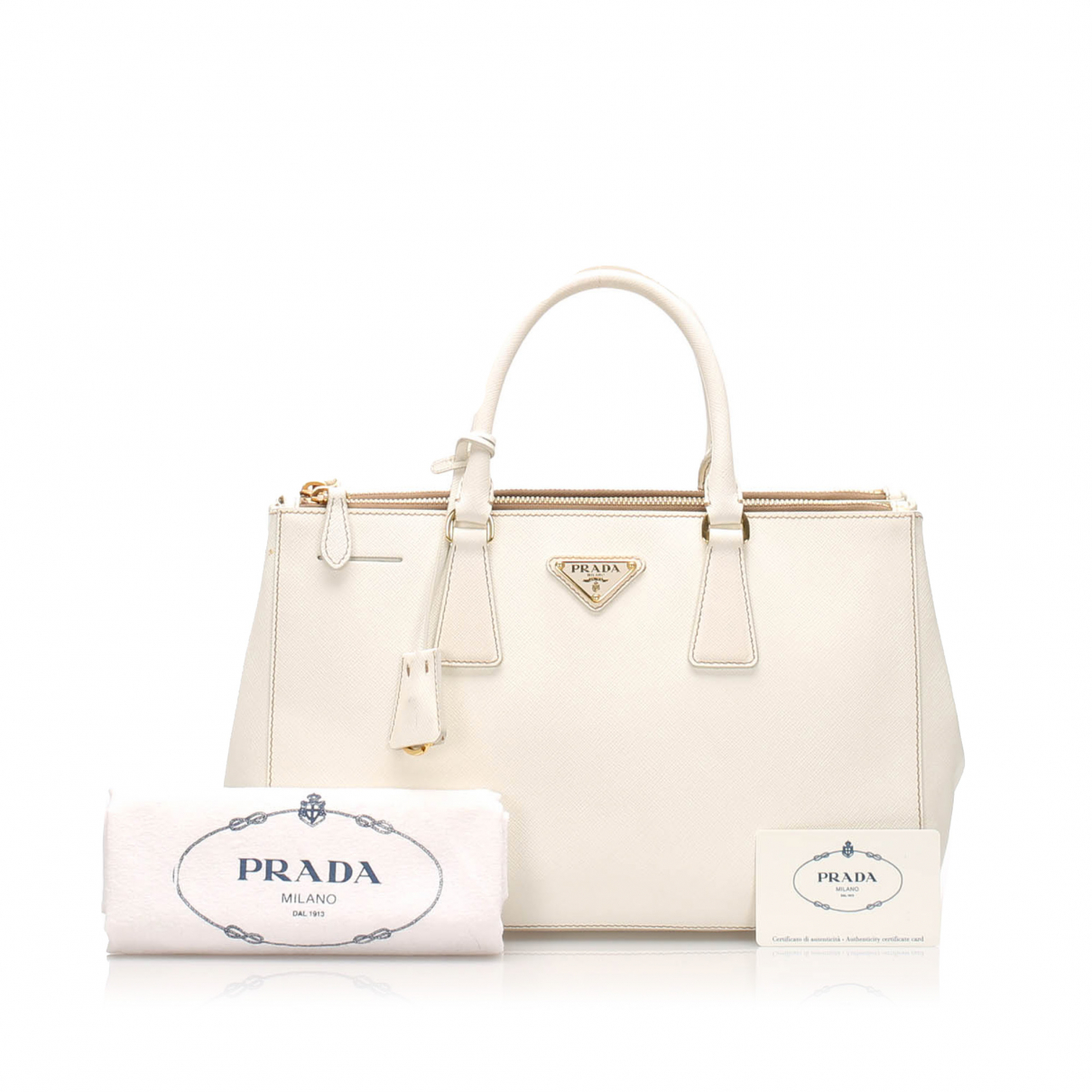 Prada N White Leather handbag for Women N