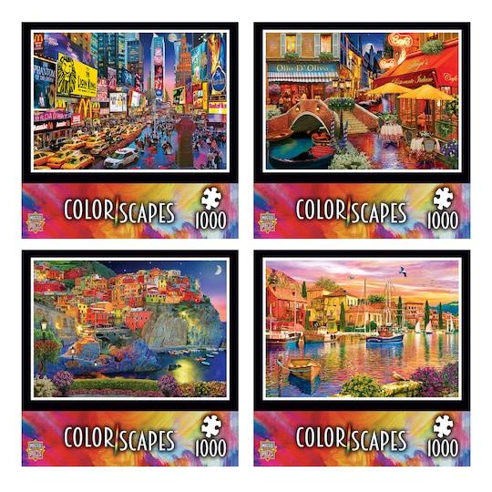 Assorted Masterpieces® Colorscapes™ Linen Jigsaw Puzzle   Michaels®