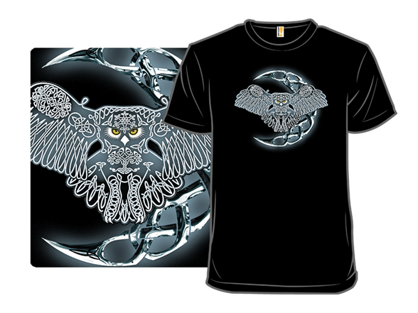 Wing, Feather, Moon, And Claw T Shirt
