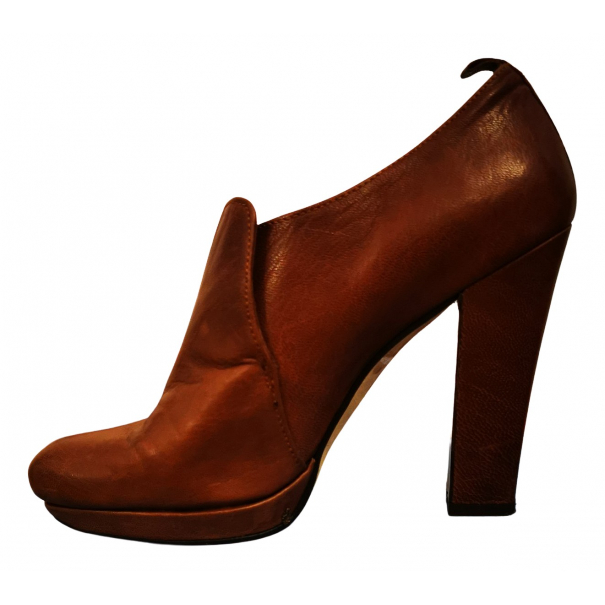 Paco Gil - Escarpins   pour femme en cuir - marron