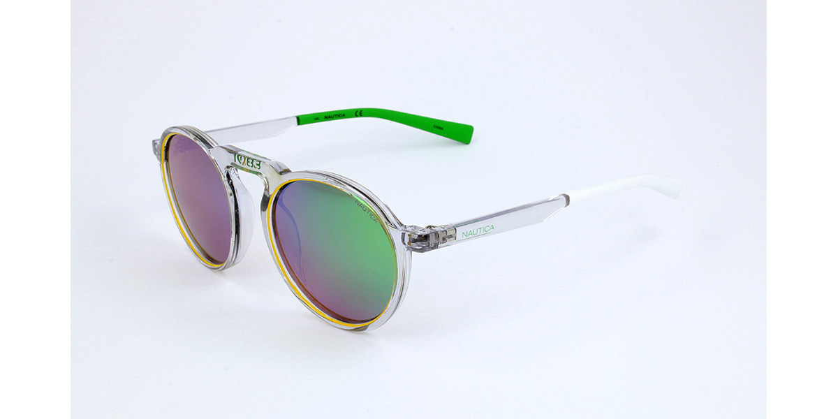 Nautica N6240S 991 Men's Sunglasses Clear Size 51