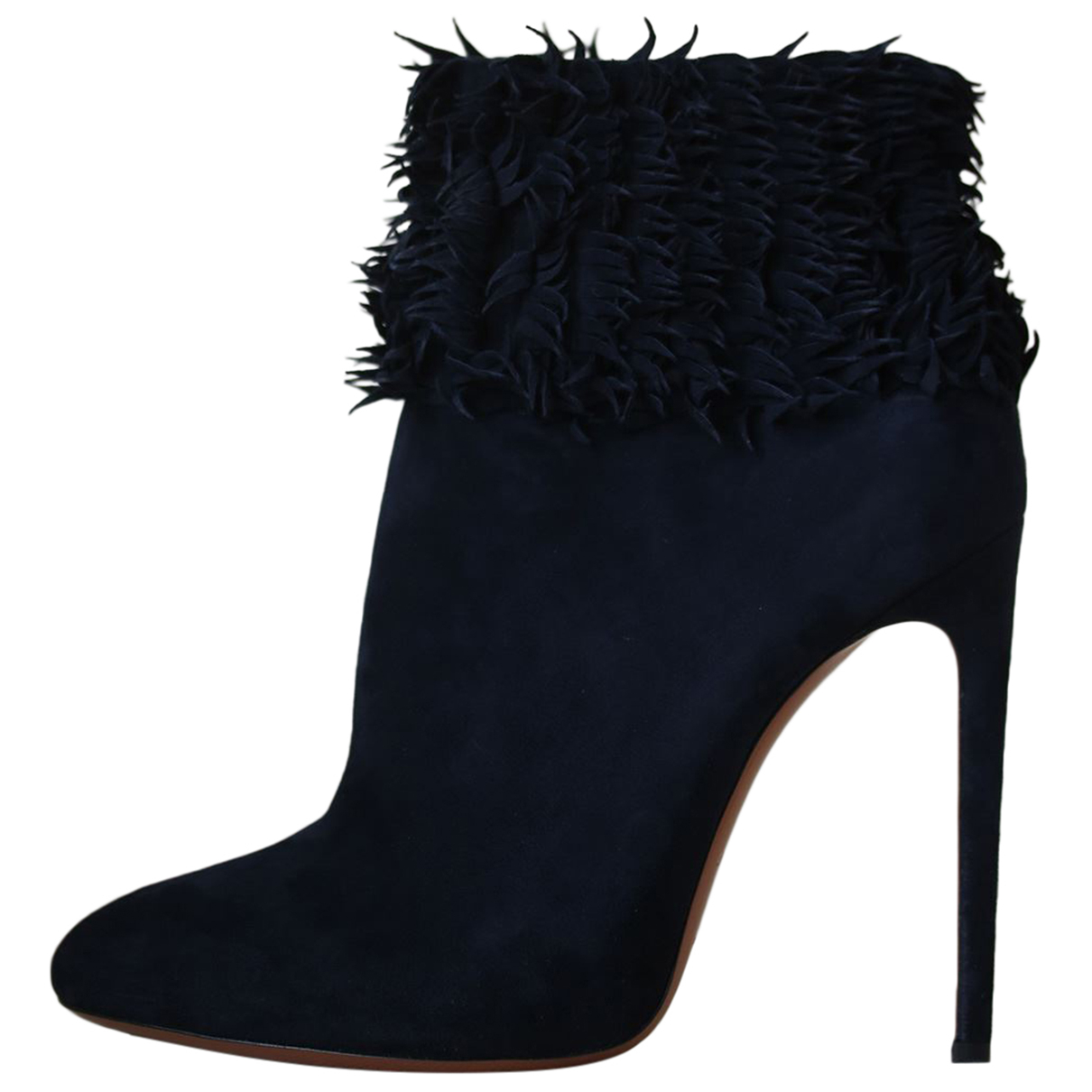 Alaïa N Black Suede Ankle boots for Women 41 EU