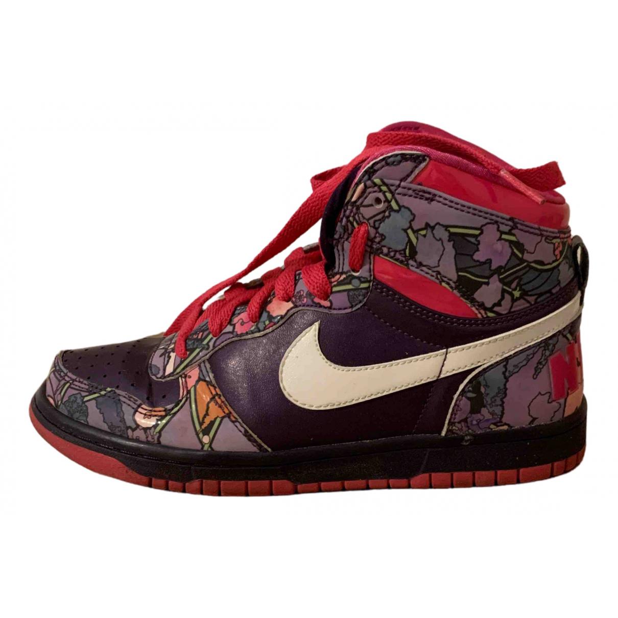 Nike \N Sneakers in  Lila Kautschuk