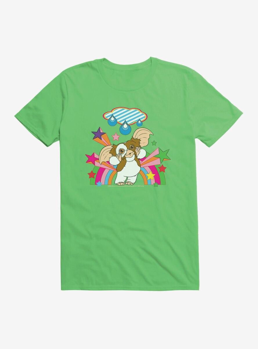 Gremlins Adorable Gizmo Rainbow T-Shirt