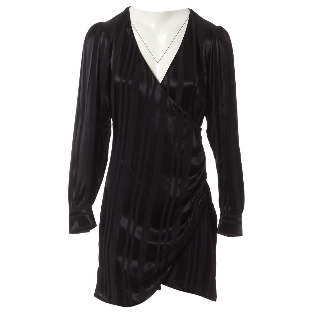 Anine Bing \N Kleid in  Schwarz Viskose