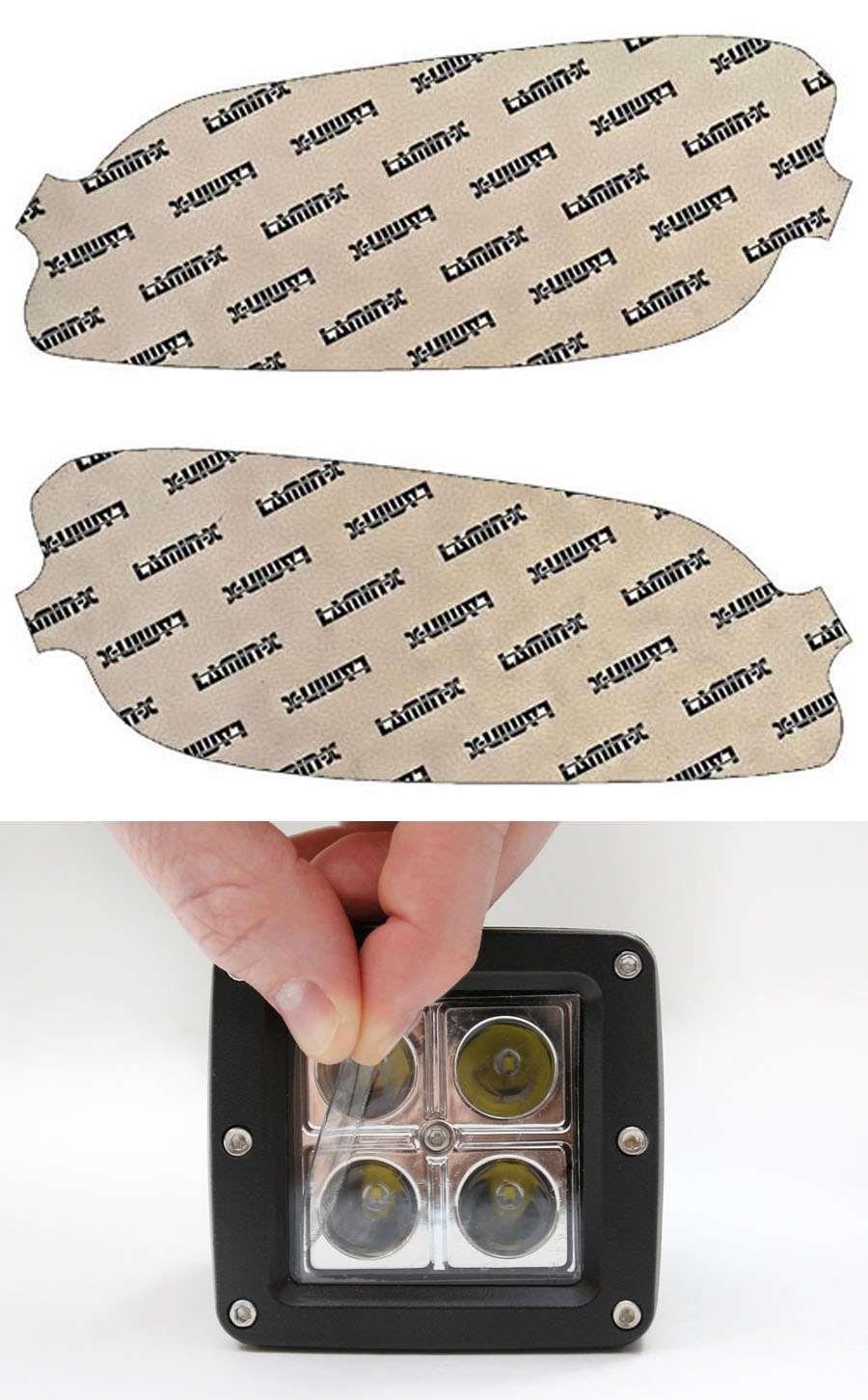 Kia Optima 14-15 Clear Fog Light Covers Lamin-X K127CL