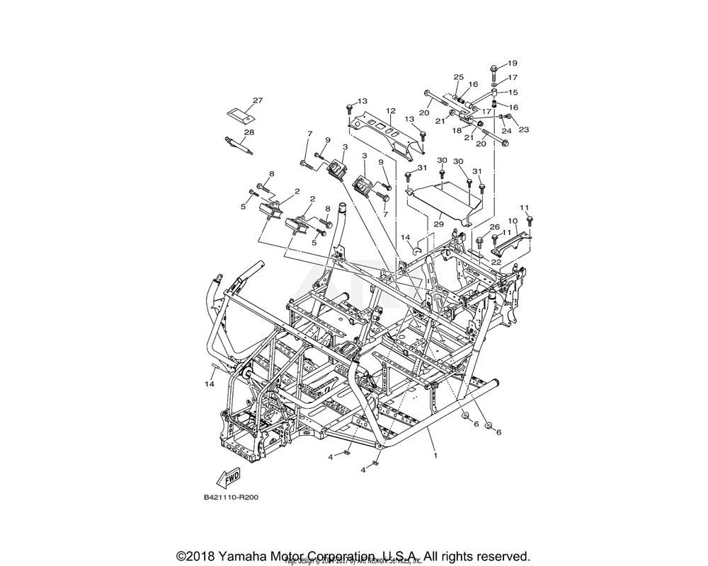 Yamaha OEM 5B4-F8100-00-00 TOOL KIT