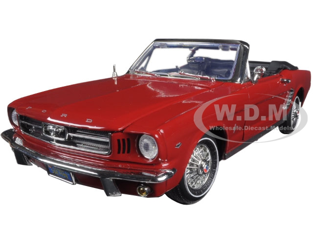 1964 1/2 Ford Mustang Convertible Red