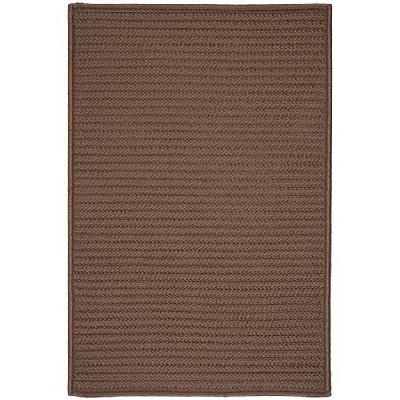 Colonial Mills Nantucket Reversible Braided Indoor/Outdoor Rectangular Rug, One Size , Brown