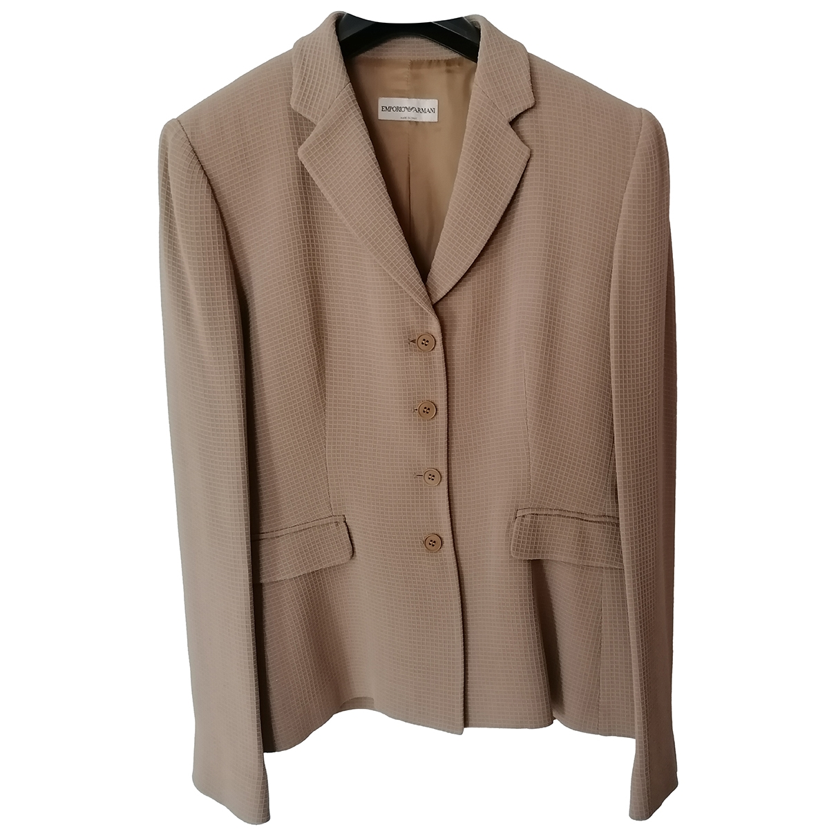 Emporio Armani \N Beige jacket for Women 44 IT