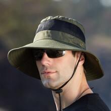 Men Plain Bucket Hat