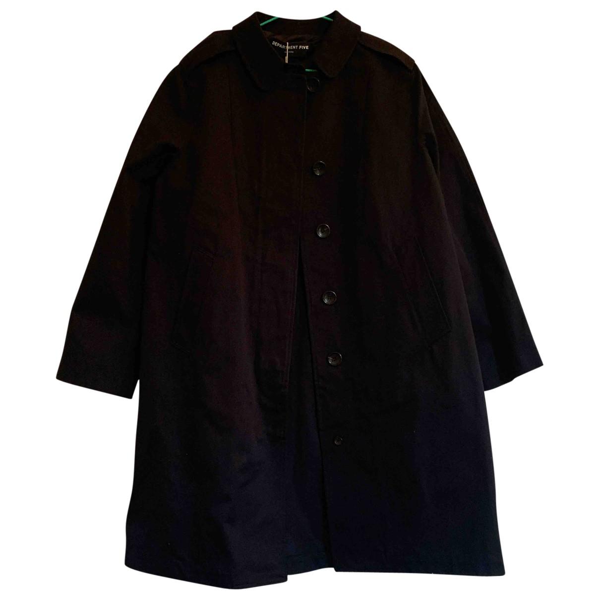 Department 5 - Manteau   pour femme en coton - bleu