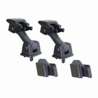 Crown Automotive Hood Catch Kit (Black) - 55176636K2