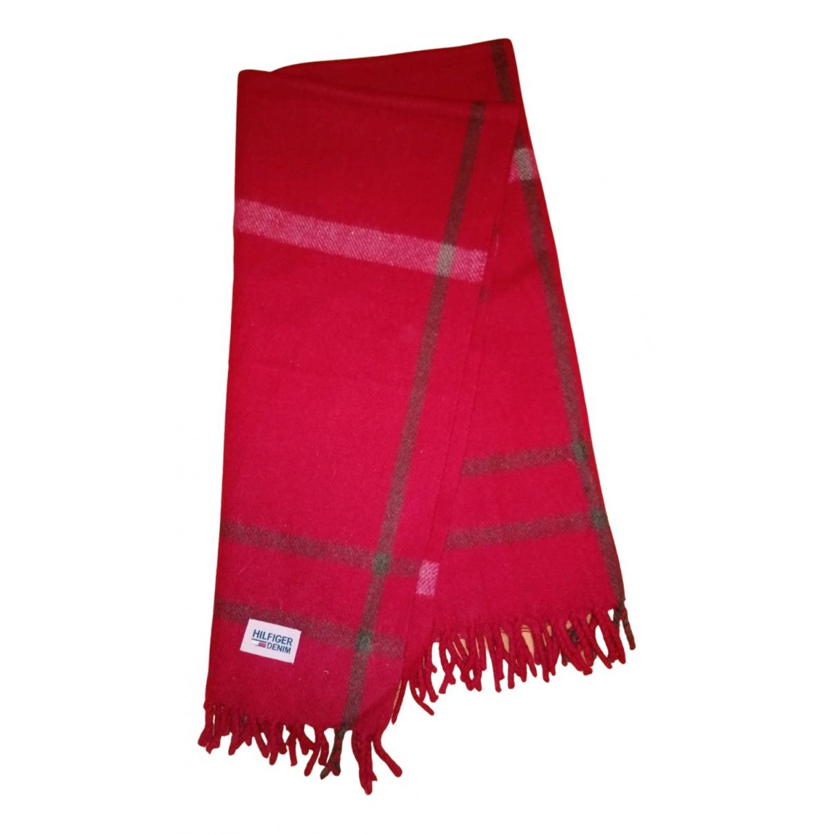 Tommy Hilfiger - Linge de maison   pour lifestyle en laine - rouge