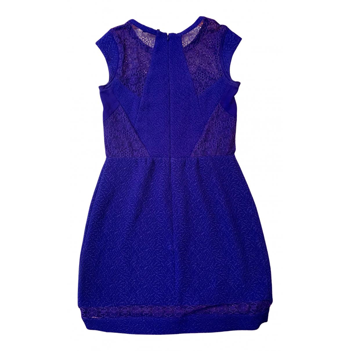 The Kooples \N Kleid in  Blau Spitze