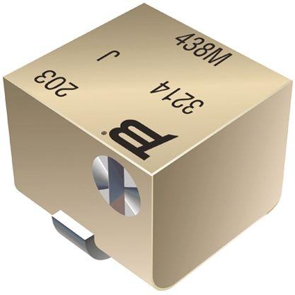 Bourns 10kΩ, SMD Trimmer Potentiometer 0.25W Side Adjust , 3214