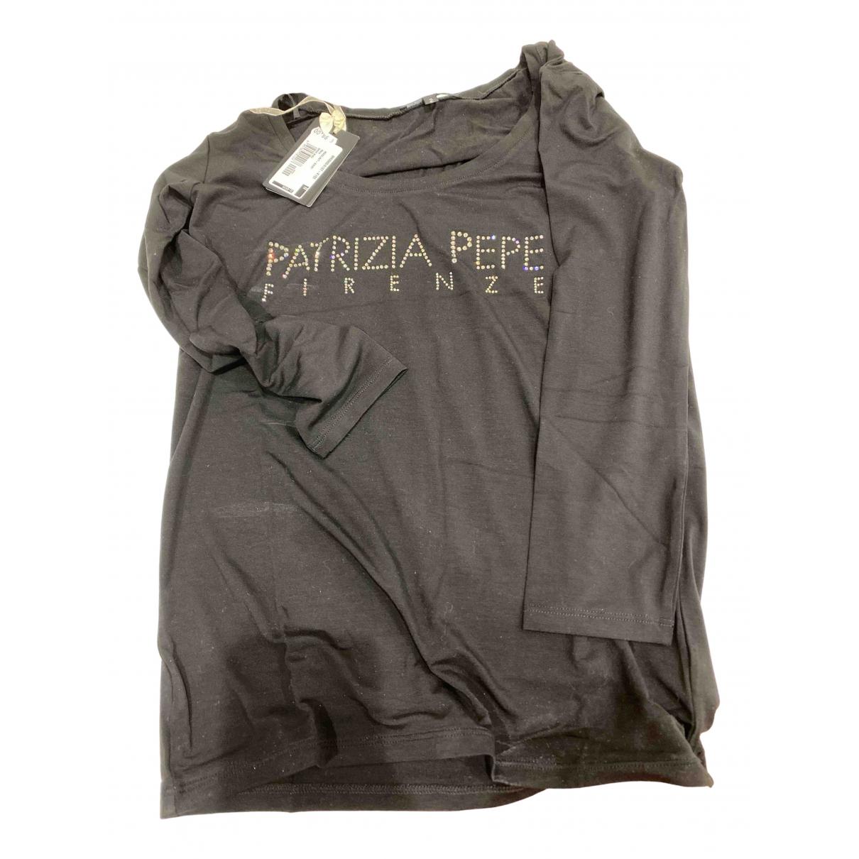 Patrizia Pepe \N Black Cotton Knitwear for Women 44 IT