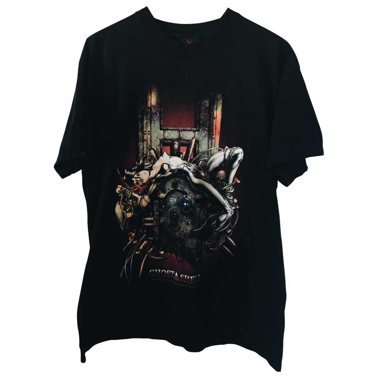 - Tee shirts   pour homme en coton - noir