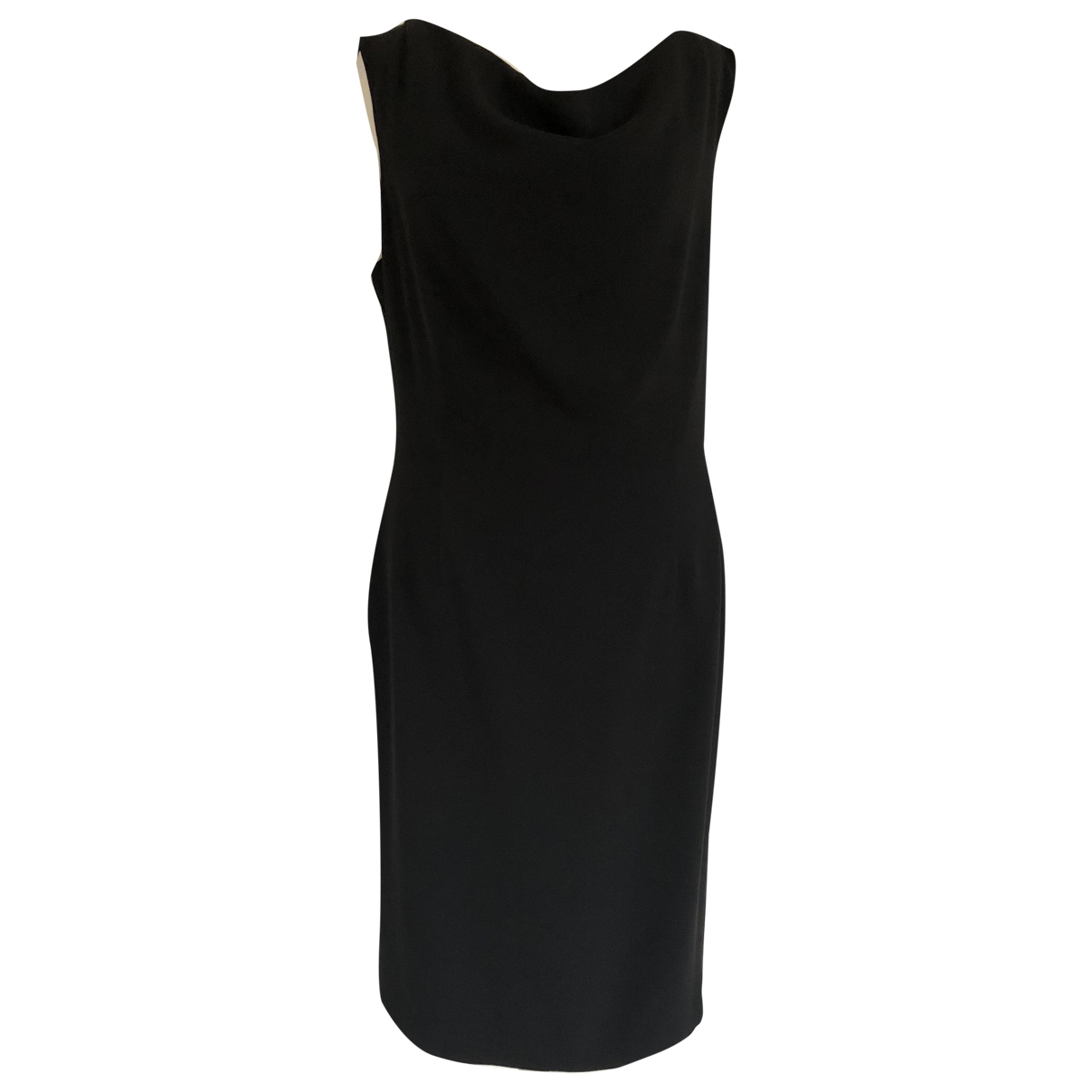 Moschino Cheap And Chic \N Black Silk dress for Women 44 IT