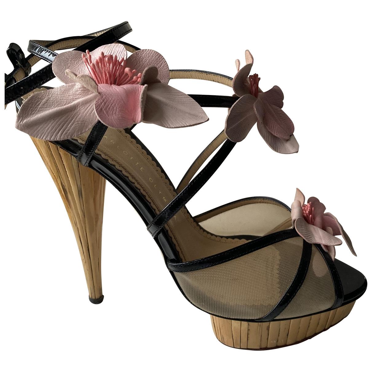 Charlotte Olympia \N Multicolour Cloth Sandals for Women 42 EU