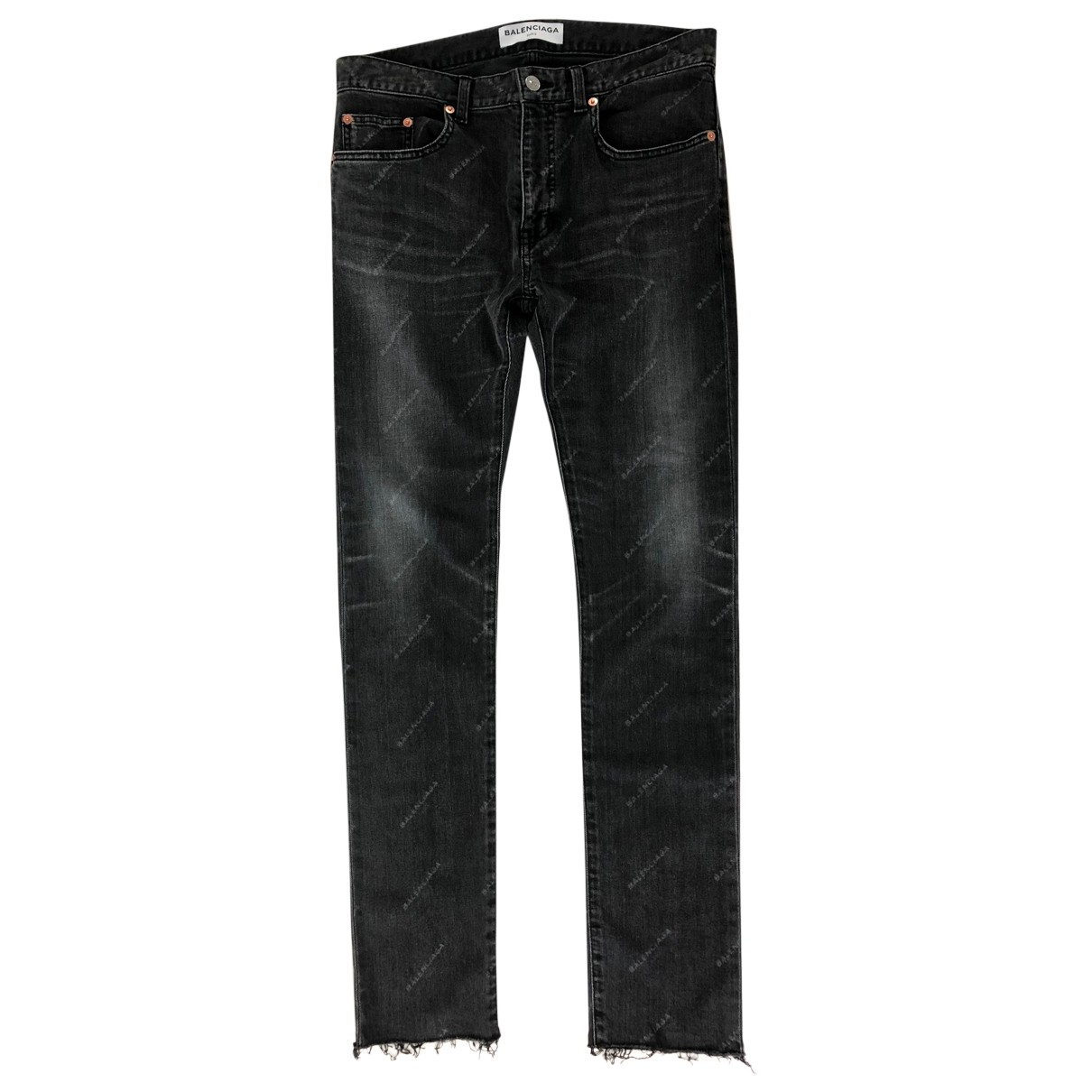 Balenciaga N Black Cotton - elasthane Jeans for Women 30 US
