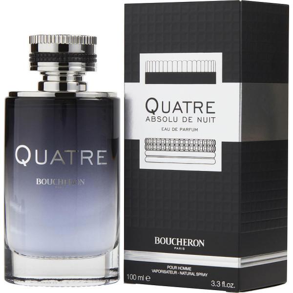 Boucheron - Quatre Absolu De Nuit : Eau de Parfum Spray 3.4 Oz / 100 ml