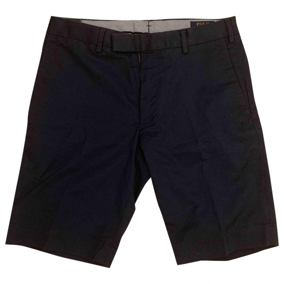 Polo Ralph Lauren N Blue Cotton Shorts for Men 30 UK - US