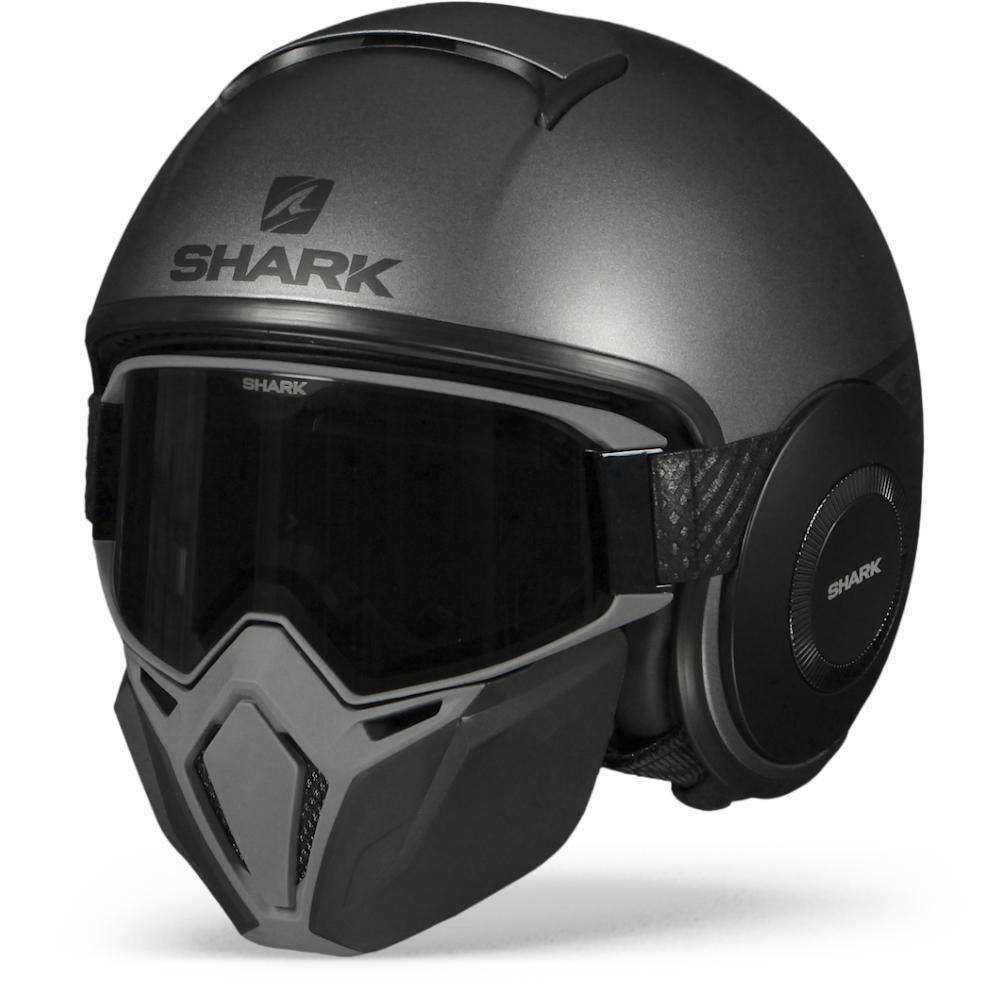Shark Street Drak Neon Serie Mate Antracita Negro Negro AKK XL