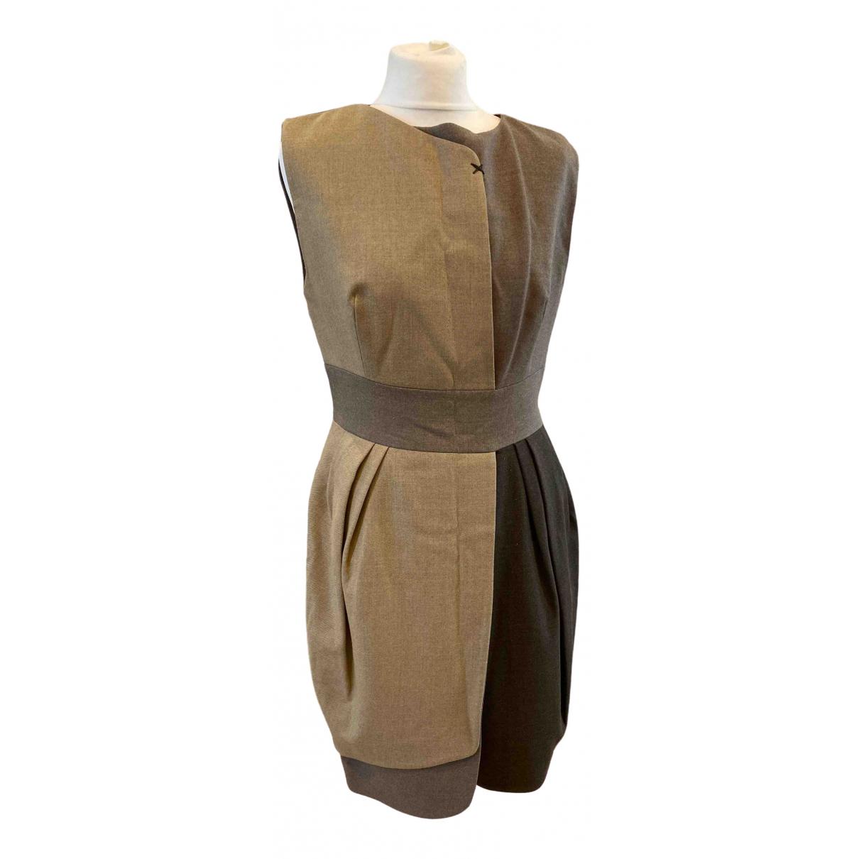 Dice Kayek \N Kleid in  Beige Wolle