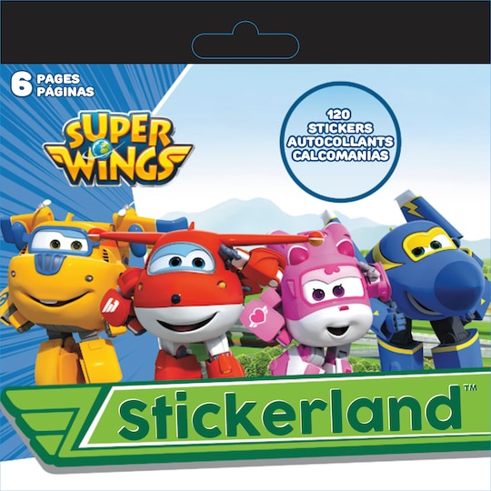 24 Pack: Stickerland™ Super Wings Sticker Pad By Trends International | Michaels®