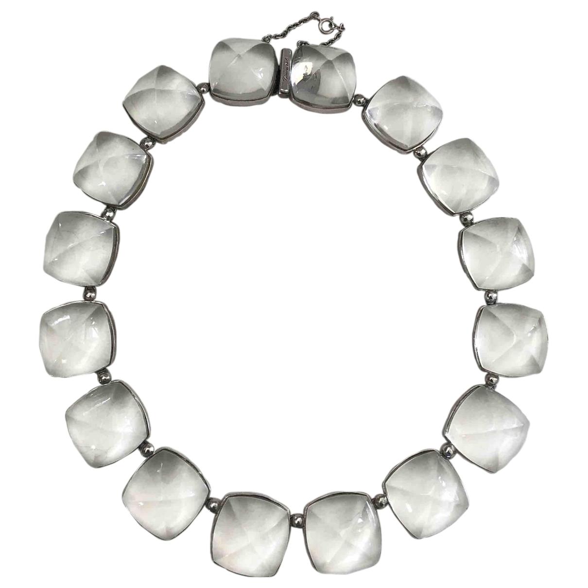 Baccarat - Sautoir   pour femme en cristal - blanc