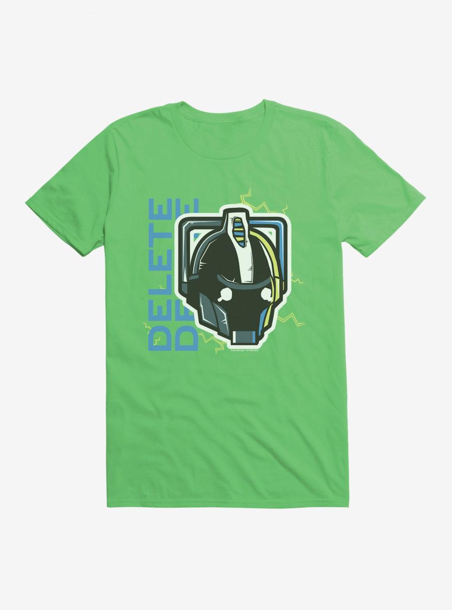 Doctor Who Cybermen Delete T-Shirt
