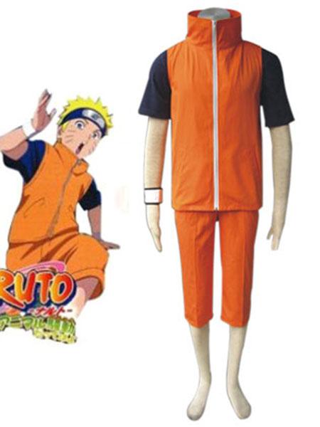 Milanoo Halloween Traje de Uzumaki Naruto para cosplay de Naruto