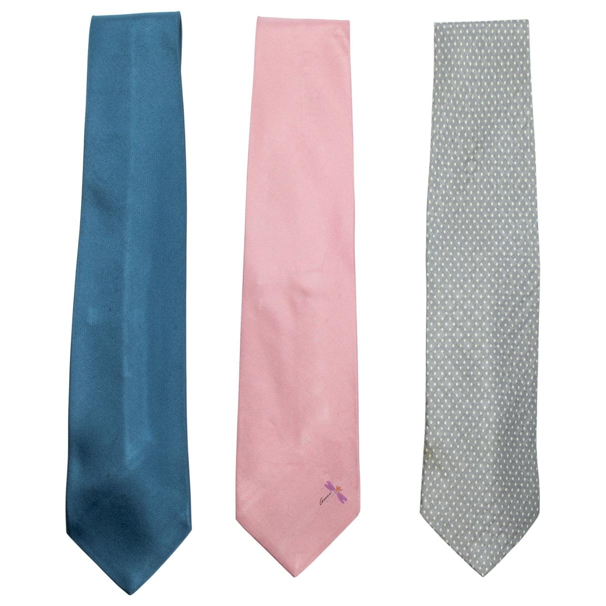 Gucci - Cravates   pour homme en soie - metallise