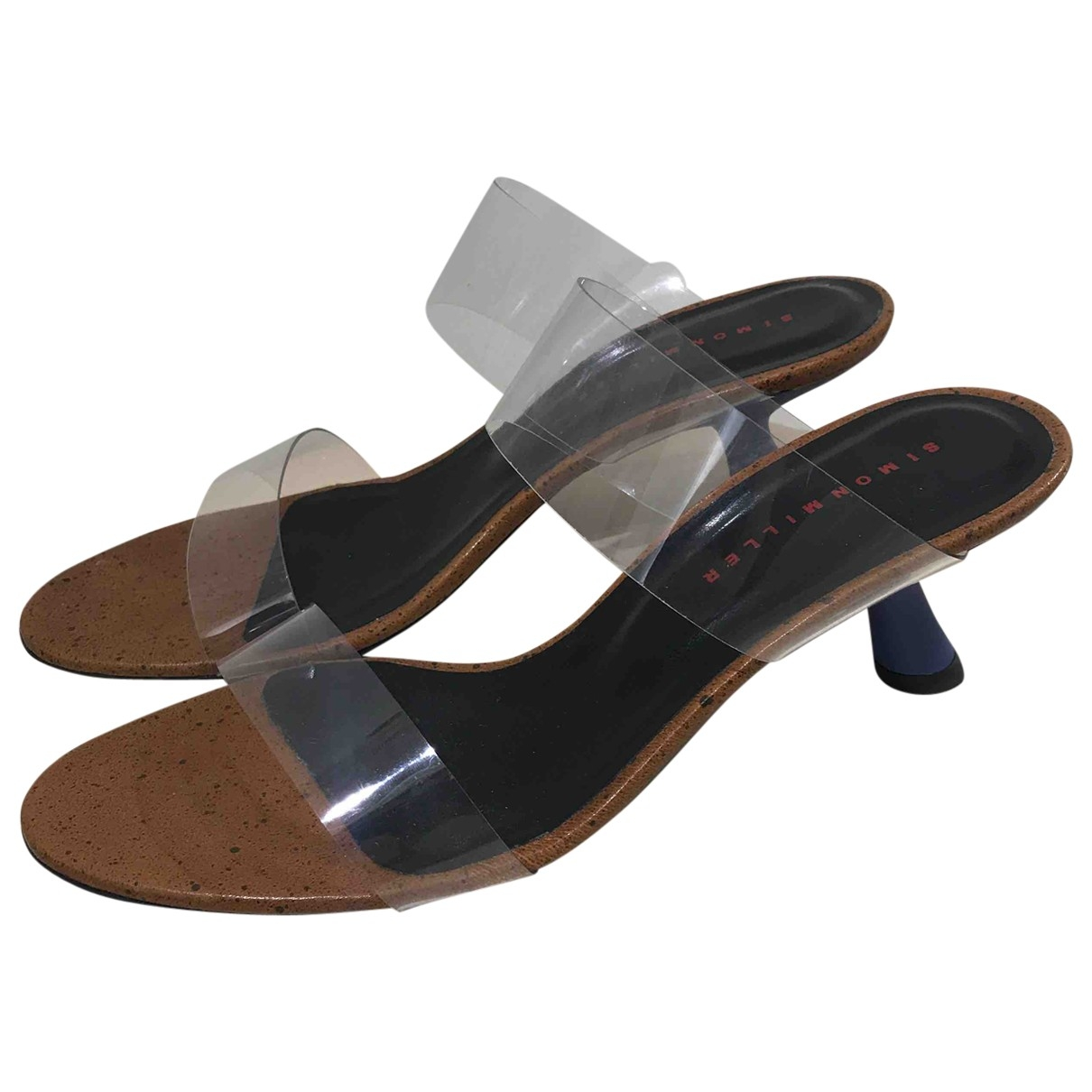 Simon Miller \N Blue Leather Sandals for Women 38 EU