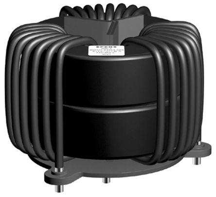 EPCOS 850 μH ±30% Ferrite Toroidal Inductor, Max SRF:10kHz, 30A Idc, 1.9mΩ Rdc, B82747S