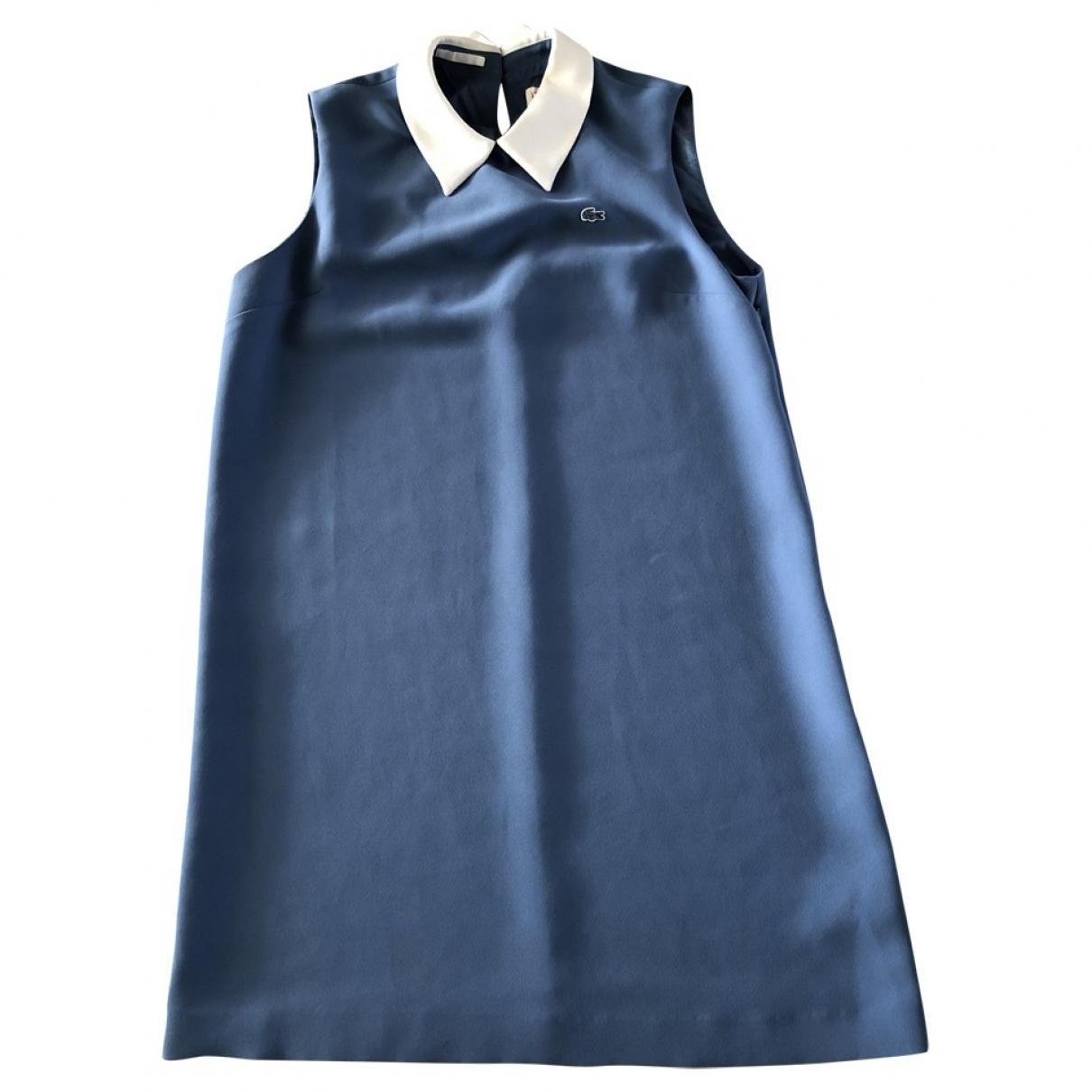 Lacoste \N Kleid in  Blau Polyester