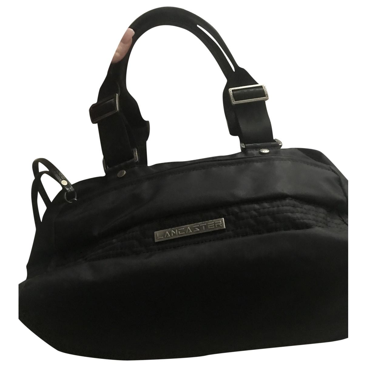Lancaster \N Handtasche in  Schwarz Synthetik