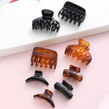 8 Stuecke Haarklammer aus Acryl