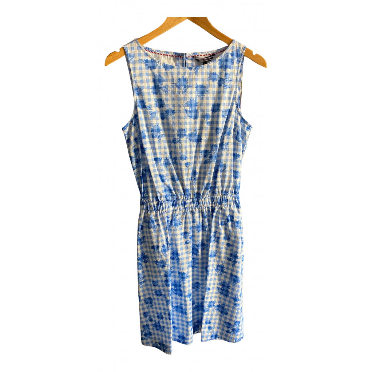 Tommy Hilfiger \N Blue Cotton dress for Women 8 US