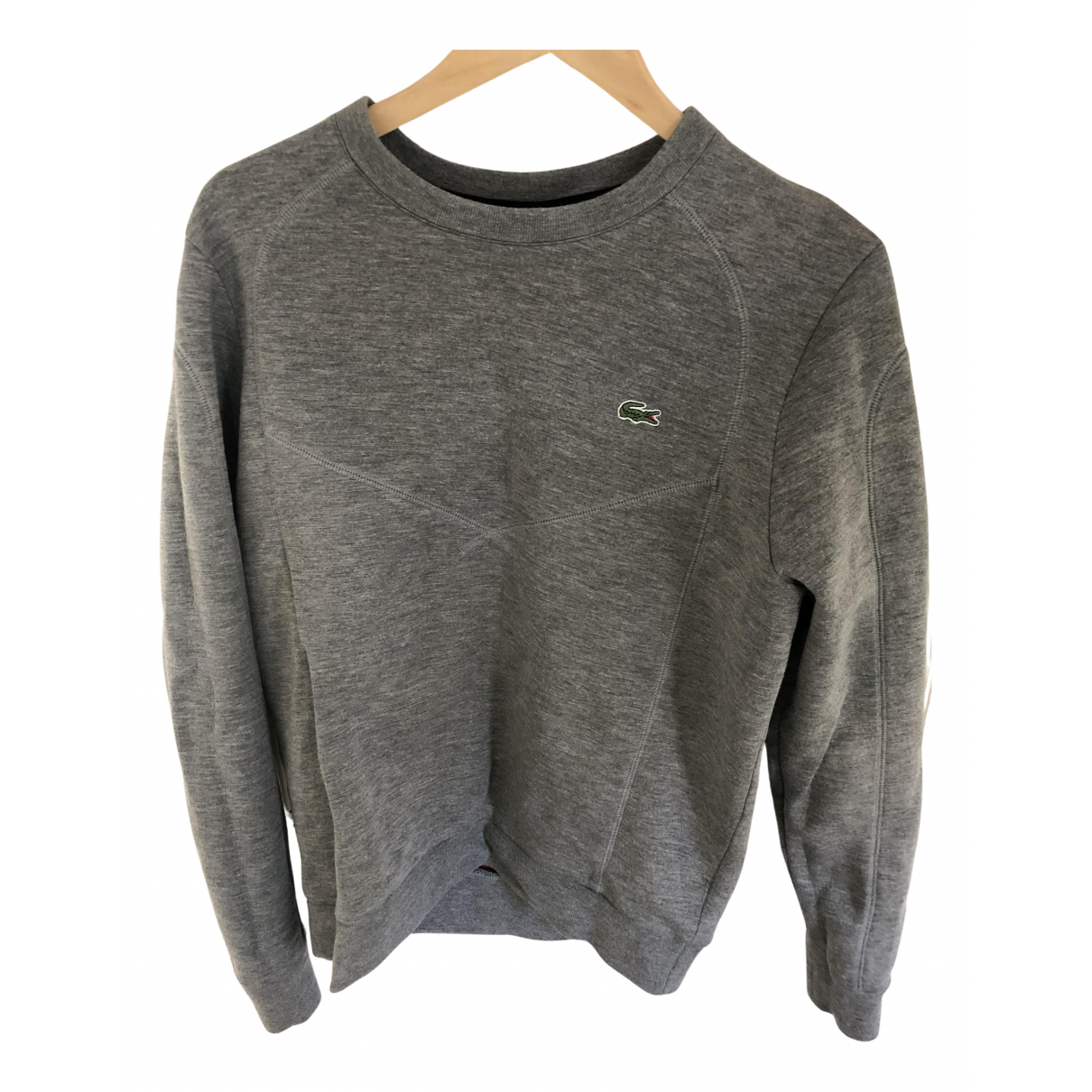 Lacoste \N Pullover.Westen.Sweatshirts  in  Grau Viskose