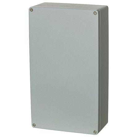 Fibox Euronord, Grey Aluminium Enclosure, IP66, IP67, IP68, 401 x 230 x 180mm