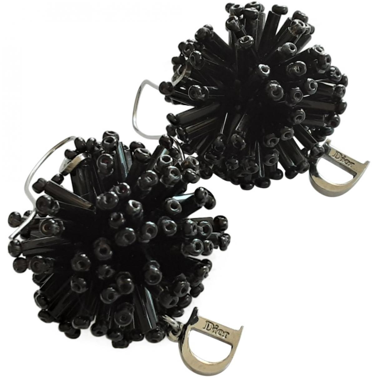 Dior \N Black Pearls Earrings for Women \N